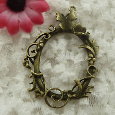 Free Ship 12 pieces bronze plated cute pendant 62x41mm #721