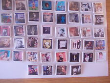 JOBLOT  44 OF DAVID BOWIE  ALBUM COVER BADGES FREE POST IN THE UK