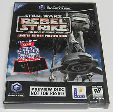 Star Wars Rogue Squadron III Rebel Strike Preview Disc GameCube USA NTSC * NEW