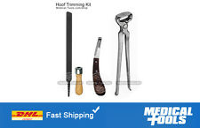 Farrier Hoof Trimming Kit/Hoof Nipper/Hoof Knife/Rasp/Re-Setting/Cutting/Sole