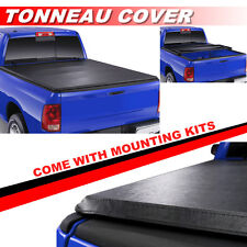 Lock Soft Tri-Fold Tonneau Cover For 94-04 CHEVROLET S10 / GMC S15 6ft Short Bed