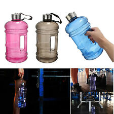 2.2L Free BPA Big Gym Sport Travel Training Drink Water Bottle Cap Kettle Jug
