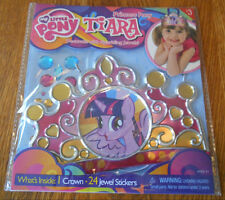 * L@@K - NEW My Little Pony Tiara Princess Crown w/Jewel Stickers to Decorate *