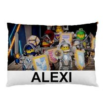 LEGO NEXO NIGHTS Personalized childrens kids CUSTOM DESIGNED pillow case