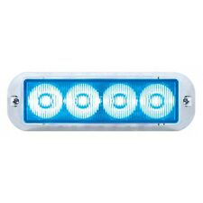 4 LED 12V/24V STROBE LIGHT - BLUE