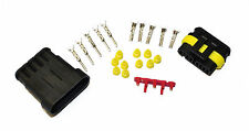 Superseal AMP/Tyco Waterproof Terminal Electrical Connectors 5 Way 0.5-1.5 Kit