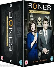 Bones - Season 1-8 [DVD] Box Set Complete Seasons 1 2 3 4 5 6 7 8 | New & Sealed