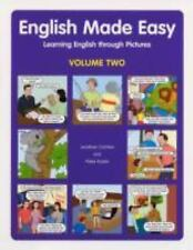 English Made Easy Volume Two: Learning English through Pictures-ExLibrary