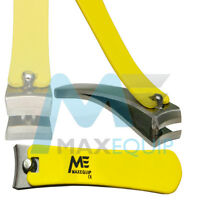 Professional YELLOW Finger Toe NAIL CUTTER Manicure Clipper Nipper Chiropody NEW