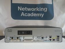 CISCO 1941/K9 ROUTER 256F/512D 15.2 IOS HWIC-1DSU-T1 VWIC2-2MFT *1YR Warranty!