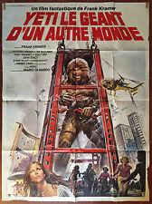 Affiche YETI LE GEANT D'UN AUTRE MONDE Parolini ANTONELLA INTERLENGHI 120x160 *D