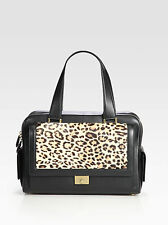 Jimmy Choo Catherine Leopard-Print Satchel NEW