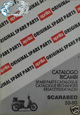 APRILIA catalogo ricambi SCARABEO 50-93