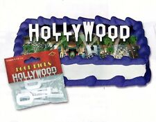 HOLLYWOOD SIGN Hor D'oeuvres Cupcake Food PICKS Party Table-Setting MOVIE NIGHT