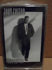 Tony Cotton - 100% Cotton Cassette BRAND NEW Rare INDIE SOUL R&B