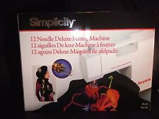 FELTING MACHINE SIMPLICITY BRAND NEW UK SELLER SAME DAY DISPATCH FAST DELIVERY