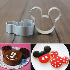 Lovely Metal Mouse Shaped Cookie Pastry Dessert Cake Cutter Baking Mould Mold