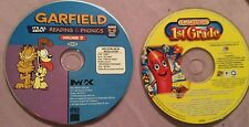 Garfield It's All About Reading & Phonics & Smart Steps For First Graders PC CD