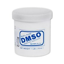 90% by volume DMSO Dimethyl Sulfoxide Gel Anti-Inflamatory 1 Lb 99.9% Pure