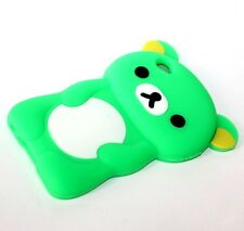For iPod Touch 4th Generation - Soft Rubber Silicone Skin Case Cover Teddy Bear