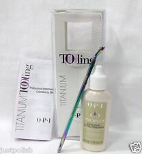 OPI Tool Manicure/Pedicure Pusher Guard + Cuticle Exfoliating 1oz Combo