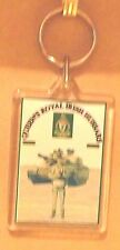 Queen's Royal Irish Hussars key ring..