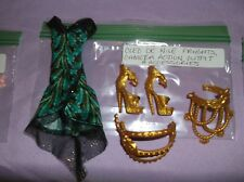 Monster High Doll Cleo De Nile Frights, Camera Action Outfit & Accessories