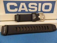 Casio Watch Band PRW-2000, PRG-200 Black Rubber Pro Trek Triple Sensor Strap