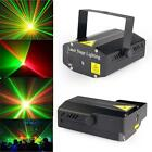 Mini R&G Laser Light Lighting Lamp Projector DJ Disco Stage Show Club Bar #A DHC
