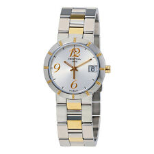 Certina DS Stella Silver Dial Two-tone Ladies Watch C0092102203200