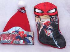 Spider-Man Christmas Stocking and Hat ~Marvel~NWTs~Retails $22.98