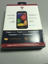 Defense Mobile Motorola Moto-E Android Phone No Contract 4G New In Box