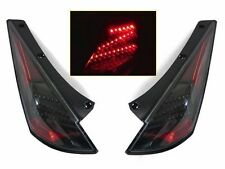 DEPO JDM Black LED Tail Lights Pair FIT FOR 2003 2004 2005 Nissan 350Z Z33 Z NEW