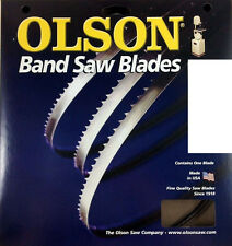 "Olson 105"" Band Saw Blade 105"" Long x 3/8"" Wide  4 TPI Hook Tooth Gauge 025"