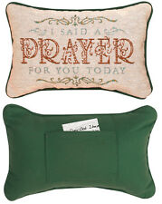 Daily Devotions ~ I Said A Prayer For You Today Word Pillow w/Prayer Pocket