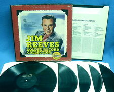 LP JIM REEVES - GOLDEN RECORD COLLECTION // USA 5 LP BOX