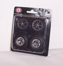 GMP ACME 1/18 Dragster Wheel & Tire Tyre Set A1800102 Diorama Biante Classic