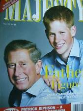 Majesty Magazine V21 #11 William Harry & Charles, Queen's Gundogs, Royal Fashion