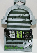 NEW Disney Tim Burton Movie Frankenweenie SPARKY Wooden Wood Charm Bracelet