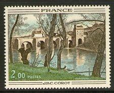 TIMBRE 1923 NEUF XX LUXE - LE PONT DE MANTES PEINT PAR CAMILLE COROT