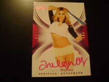 2015 Benchwarmer Signature Series Talor Marion BASE AUTO PINK PLAYMATE