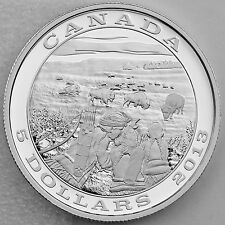 Canada 2014 $5 Bison - Tradition of Hunting Series - Pure Silver Proof Coin