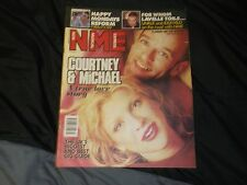 nme N.M.E COURTNEY LOVE MICHEAL STIPE HOLE REM COVER JAN 1999