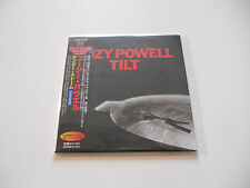 "Cozy Powell ""Tilt"" Rare Japan cd Paper Sleeve"