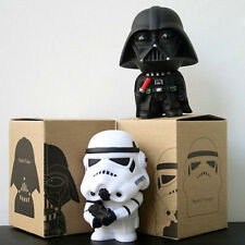 "2pcs Set Stormtrooper Figure 10cm / 4"" Darth Vader Star Wars New In Box Movie"