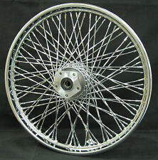 "Chrome Ultima 80 Twisted Spoke Front 21 x 2.15"" Wheel for Harley FXDWG 1984-1999"