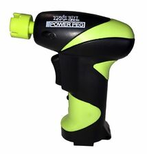 ERNIE BALL POWER PEG BATTERY POWERED STRING WINDER ( Worth A Look ) 70% Faster