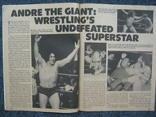 1977 Wrestling (ANDRE THE GIANT/MR. WRESTLING II/JOSE LOTHARIO/BABA  THE  GIANT)
