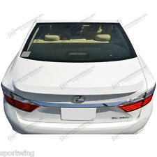 For LEXUS ES350 NO PANORAMIC Models Unpainted Flush Mount Spoiler Wing 2013-2017