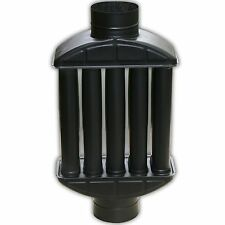Abgas wärmetauscher Warmlufttauscher Kamin Rauchrohr Kaminrohr 130mm